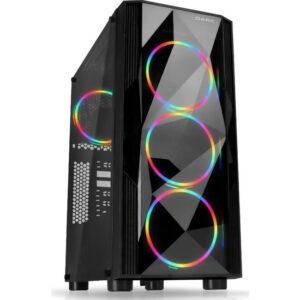 Dark Diamond Pro 500W 80+ Bronze 4x12cm RGB USB 3.0 Bilgisayar Kasası (DKCHDIAMONDPRO580BR)