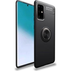 Coverzone Samsung Galaxy A71 Novel Kılıf Silikon Kılıf Siyah
