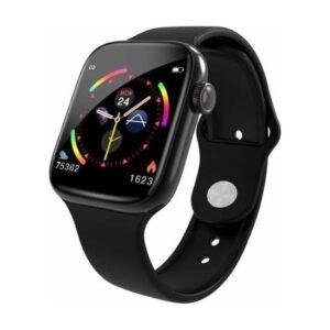 Thorqtech-W4 Tam Dokunmatik Ekran Akıllı Saat Siyah