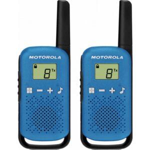 Motorola TLKR-T42 Pmr El Telsizi Pilli Ekonomik Paket Mavi