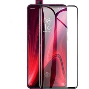 Herdem Huawei Y9 Prime 2019 Ekran Koruyucu 5D Tam Kaplayan Cam - Siyah