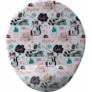 GameBoss Cat Meow Bilek Destekli Tasarım Mouse Pad
