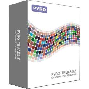 Pyro Temassız Ön Ödemeli Pos Yazılımı