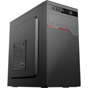Gametech Iron 300WATT Micro Atx Bilgisayar Kasası Siyah