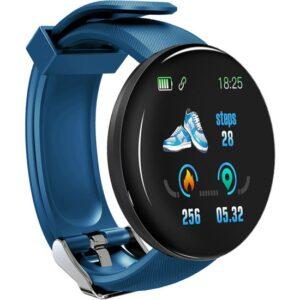 Yukka Akıllı Saat Su Geçirmez Spor Takibi İçin Android Ios Tansiyon Kan Oksijen Nabız