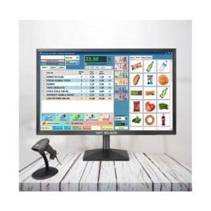Uht Bilişim Barkodlu Satış Programı Online Teslimat Kablolu ve Standlı Barkod Okuyucu (Temel Paket 2)