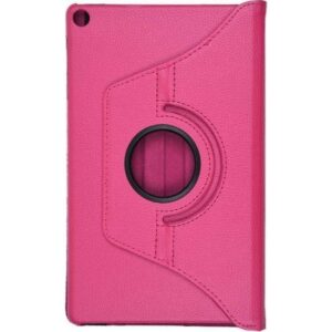 "Esepetim Samsung Galaxy Tab A SM-T510 Dönerli Pembe 10.1"" Tablet Kılıfı Seti"