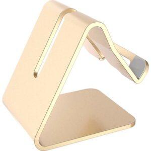 Wlue Masaüstü Metal Tablet ve Telefon Standı Gold