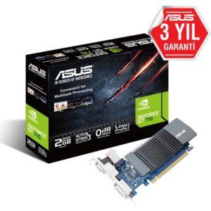 Asus Geforce GT710-SL-2GD5 (VGA DVI HDMI) DDR5 Ekran Kartı