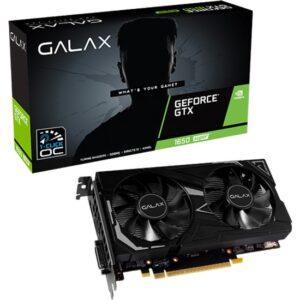 Galax Nvidia GeForce GTX1650 Super EX OC 4GB 128Bit GDDR6 (DX12) PCI-E 3.0 Ekran Kartı (GLX-65SQL8DS61EX)