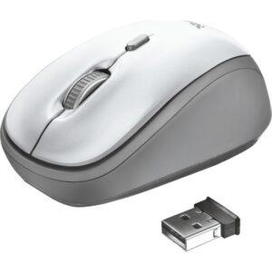 Trust 23386 YVI Wireless Mouse - Beyaz