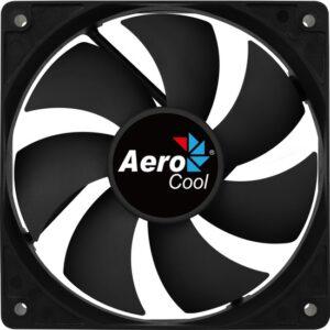Aerocool Force 12 cm PWM 4Pin Siyah Sessiz Fan (AE-CFFR120PBK)