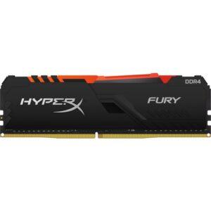 Kingston HyperX Fury RGB 8GB 3200MHz DDR4 Ram HX432C16FB3A/8