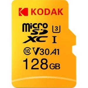 Kodak Micro Sd Kart 128GB Tf Kart U3 A1 V30 (Yurt Dışından)