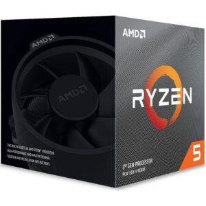 AMD Ryzen 5 3600XT 4,5GHz 3MB Cache AM4 İşlemci