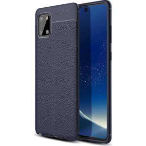 Case 4U Samsung Galaxy Note 10 Lite Darbe Emici Silikon Kılıf Niss + Nano Cam Ekran Koruyucu Lacivert