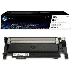 HP 117A Siyah Chipli Toner HP MFP 150A - 150NW - 78NW - 79FNW - W2073A Kraft Kutu