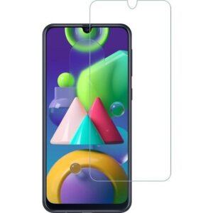 Engo Samsung Galaxy M21 Ekran Koruyucu 2.5d Temperli Cam