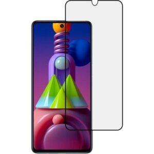 AkseStore Samsung Galaxy M51 5d Temperli Ekran Koruyucu Kırılmaz Cam