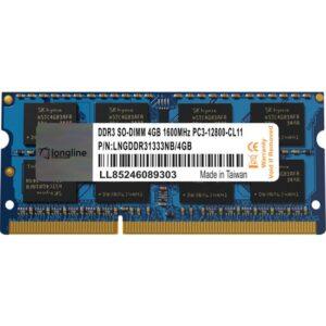 Longline 4GB 1600MHz DDR3L Ram LNG1600LS/4GB