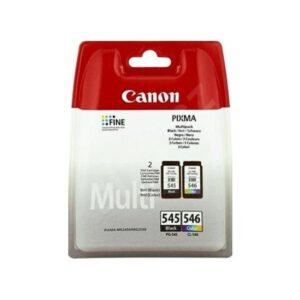 Canon PG-545BK + CL-546 2'li Paket Kartuş