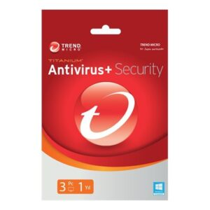 Trend Micro Titanium Antivirüs 3 Kullanıcı 1 Yıl (TI00239847D)
