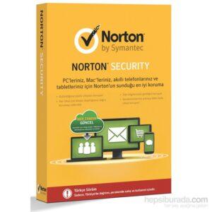 Norton Security 1 Kullanıcı 1 Yıl 5 Cihaz 2015 Tam Koruma