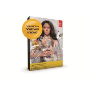 Adobe CS6 Design & Web Premium Türkçe Öğrenci - Öğretmen Paketi MAC Uyumlu