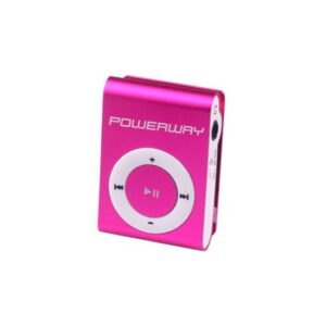 Powerway DRN-X08 4GB MP3 Player - Pembe