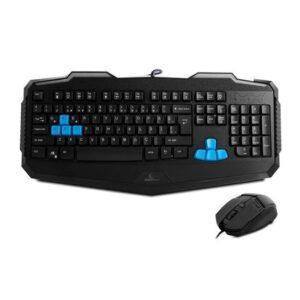 Rampage KM-R10 3 Farklı Aydınlatmalı Siyah Oyuncu Klavye Mouse Set (14288)