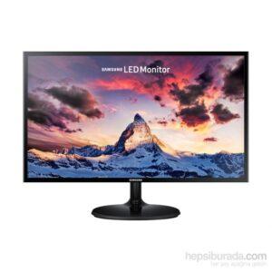 """Samsung LS24F350FHMXUF 23.5"""" 60-72Hz (Analog+HDMI) Full HD FreeSync PLS Monitör"""