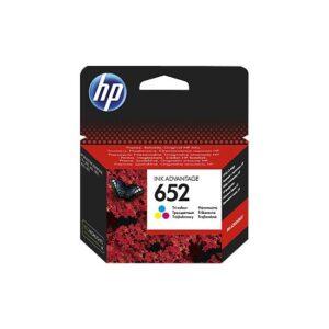 HP 652 Renkli Mürekkep Kartuşu F6V24AE - 2 Adet