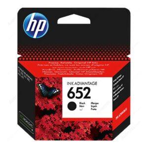 HP 652 Siyah Mürekkep Kartuşu F6V25AE - 3 Adet