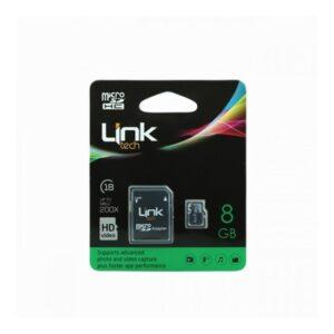 Link Tech Micro Sd Hc 8 Gb Hafıza Kartı