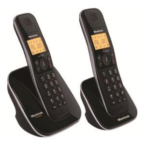 Multitek DC 8202 Ultra Slim Çift Dect Telefon