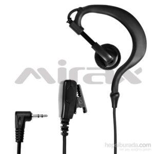 Mirax PMR Telsiz Kulaklığı, mikrofonlu, 2,5mm fiş, Motorola T6/ T8/ T60/ T61/ T80/ T81 Uyumlu MT100-PM02