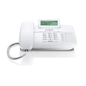 Gigaset DA710 Masaüstü LCD Ekran (100 Hafıza) Masaüstü Telefon - Beyaz