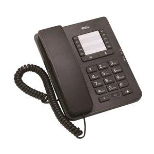 Karel TM142 Siyah Masa Telefonu