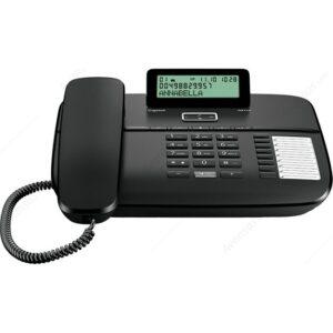 Gıgaset Da710 Ekranlı Kablolu, Siyah
