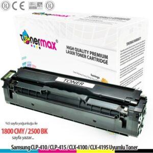 Toner Max® Samsung CLP-410 / CLP-415 / CLX-4100 / CLX-4195 / C1860 / C-1810 / CLT-K504S Muadil Toner