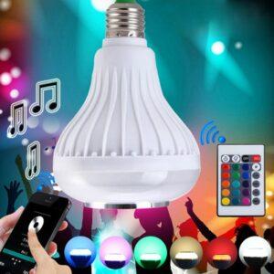 Forland Bluetooth Hoparlör Ve Led Lamba Uzaktan Kumandalı Ampül