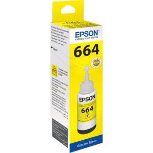 Epson T6644 L100/L200 70 ml Sarı Mürekkep - 2 Adet