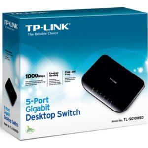 Tp-Link Tl-Sg1005D 5 Port Gigabit Switch