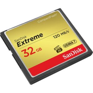 Sandisk Extreme CompactFlash Card 32GB 120MB/s 800x