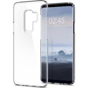 Spigen Samsung Galaxy S9 Plus Kılıf Thin Fit Crystal Clear - 593CS22961
