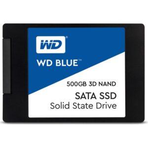 """WD 500GB Sata Blue 2.5"""" SSD WDS500G2B0A"""
