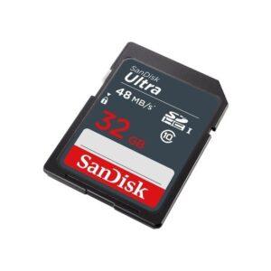 SanDisk Ultra SDHC 32GB 48MB/s Class 10 UHS-I Hafıza Kartı SDSDUNB-032G-GN3IN