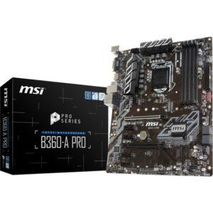 MSI B360-A PRO 2666MHz DDR4 Soket 1151 ATX Anakart