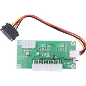 Alfais 5135 Atx 24-Pin Dual İkinci Psu Power Bitcoin Minning Ekleyici