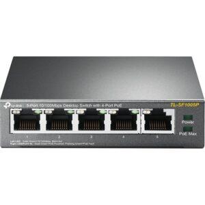 TP-Link TL-SF1005P 5-Port 10/100Mbps 4-Port PoE Switch